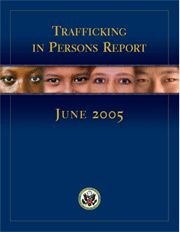 Report Cover: Trafficking in Persons Report, June 2005