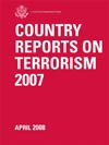 Country Reports on Terrorism 2007 report cover.