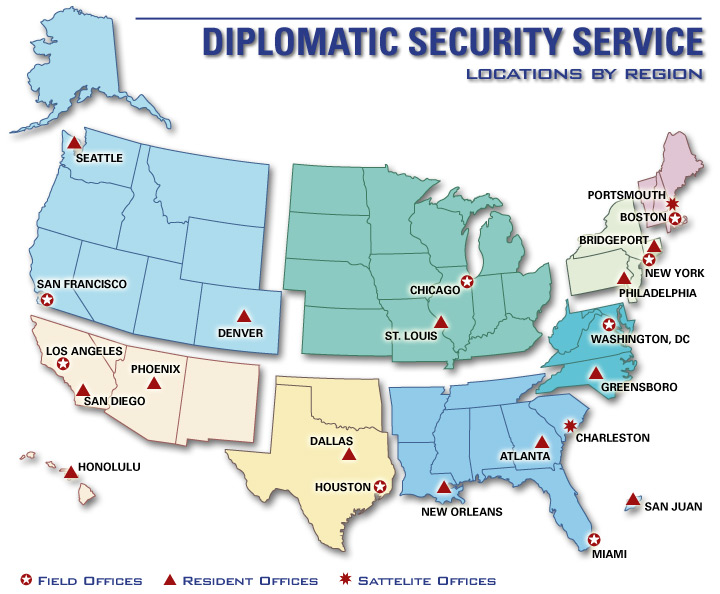 Security - Foreign embassies in the us map