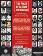 The Faces of Global Terrorism, Rewards for Justice poster.