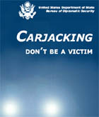 Report cover,  Carjacking. Dont be a Victim.