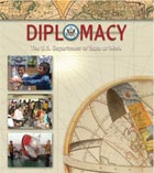 Diplomacy: The U.S. Department of State at Work brochure cover June 2008.