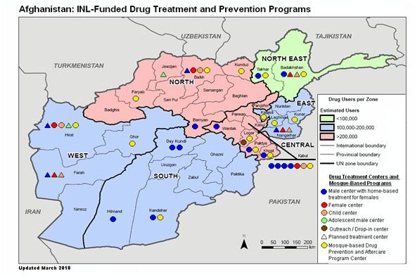 Demand Reduction Program: Afghanistan