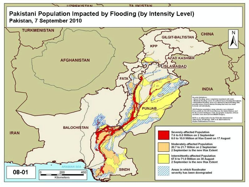 Area Maps Of Pakistan Flooding - Us flood zone map