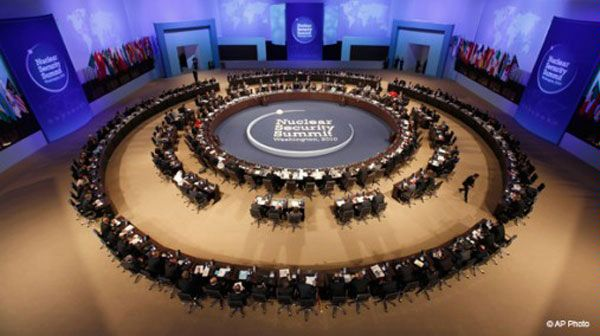 Nuclear Security Summit opening plenary session in Washington.