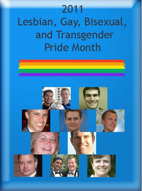 Date: 06/20/2011 Description: 2011 LGBT Pride Month Participants Collage - State Dept Image