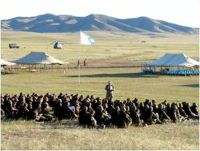 Date: 2006 Description: Khaan Quest international peacekeeping training exercise. (Mongolia, 2006) - State Dept Image