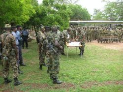 Date: 2011 Description: Ghanaian Peacekeeping Troops receive GPOI-funded training in preparation for an UNMIL (Liberia) deployment. - State Dept Image