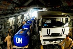 Date: 2011 Description: U.S. Air Force provides airlift support to move Rwandan equipment to AMIS (African Union Mission in Sudan). - State Dept Image