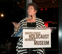Date: 06/02/2011 Description: Delivering keynote remarks at a dinner for the United States Holocaust Memorial Museum on June 2, 2011 in New York City - State Dept Image