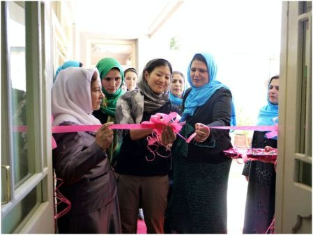 Date: 2011 Description: Women for Afghan Women open a shelter in Badakhshan province. - State Dept Image