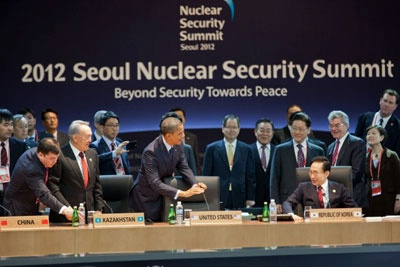 President Obama and Other World Leaders at Nuclear Security Summit.
