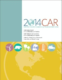 Date: 01/02/2014 Description: 2014 U.S. Climate Action Report to the UN Framework Convention on Climate Change (cover) - State Dept Image