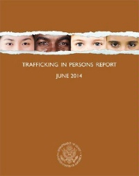 Date: 2014 Description: Trafficking in Persons Report 2014. - State Dept Image