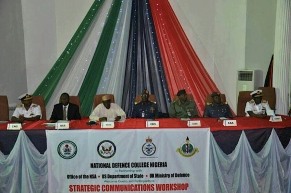 QDDR THEME: Countering Violent Extremism. Department of State (CSCC) sponsored workshop in Nigeria , on countering violent extremism through strategic communications. Hosted at the National Defence College in Nigeria, a strategic partner in countering violent extremism.