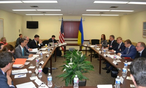 Special Envoy for International Energy Affairs Amos Hochstein and Ukraine's Energy Minister Volodymyr Demchyshyn cover wide-ranging and in-depth discussions regarding Ukraine's energy sector at the fifth annual Energy Security Dialogue.