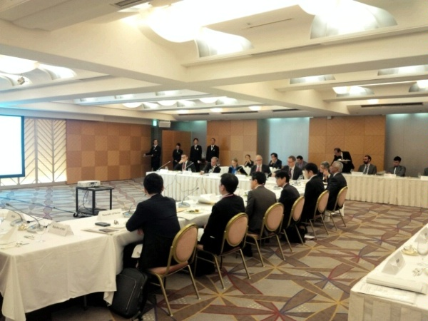 ENR and the Department of Energy engage with the Japanese government on energy in Tokyo.