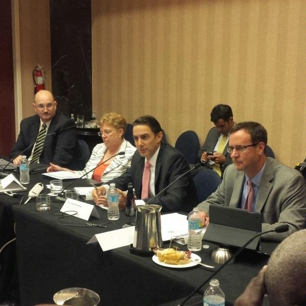 Special Envoy Hochstein engages with civil society leaders from the Caribbean on clean energy.