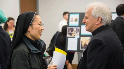Religious leaders meet with environmental groups as part of the Office of Religion and Global Affairs' Religion and Climate Change Symposium in Washington, DC on November 9-10, 2015.