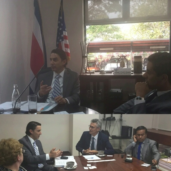 Special Envoy Amos Hochstein works with our hemispheric partners to strengthen Central America's regional electricity integration process, known as Central American Electricity Integration System (SIEPAC).