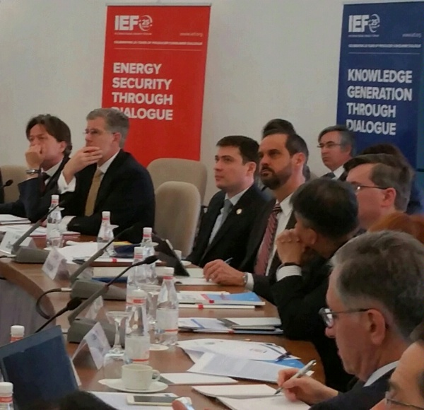 ENR/PAPD Director Rick Westerdale participates in the 6th IEA-IEF-OPEC Energy Outlooks Symposium.
