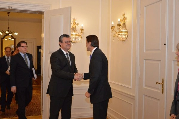 Special Envoy Amos Hochstein with Croatian Prime Minister Tihomir Oreskovic for a discussion on LNG options for Croatia, and Croatia's role to diversify European energy supplies.