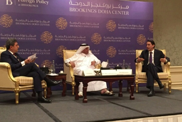 "Special Envoy Hochstein participates at a Brookings Doha Center event on  ""The Role of LNG in a Changing Energy World."""