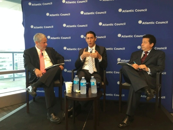 Special Envoy Hochstein participates in an Atlantic Council Event titled Caribbean and Central American Energy in Transition.