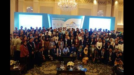 Special Envoy to the OIC Arsalan Suleman meets participants at the OIC's first Young Leaders Summit in Istanbul, Turkey.