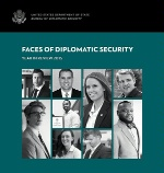 Date: 06/06/2016 Description: Cover of Diplomatic Security 2015 Year in Review showing faces of DS personnel. (U.S. Department of State image) - State Dept Image