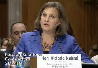 Date: 06/07/2016 Description: EUR Assistant Secretary Victoria Nuland speaks before the Senate Foreign Relations Committee. © [SFRC Screenshot]