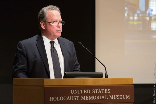 "Assistant Secretary for Conflict and Stabilization Operations David Robinson speaks at the United States Holocaust Memorial Museum's ""Partners in Prevention: A Global Forum on Ending Genocide"" Conference on addressing the strategic and moral imperative of preventing atrocities. (May 2016)"