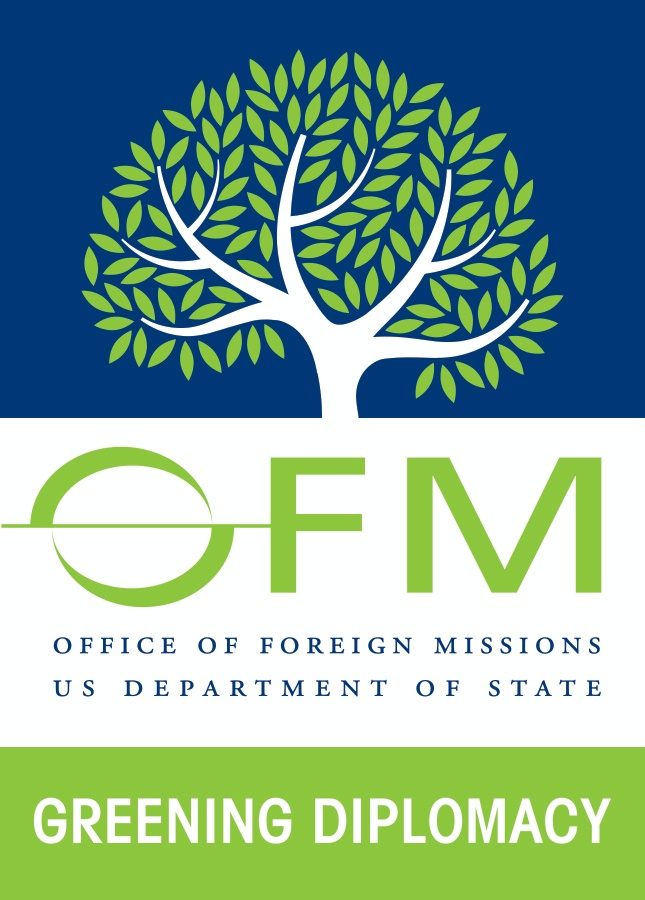 Date: 07/11/2016 Description: OFM Green Diplomacy Logo - State Dept Image
