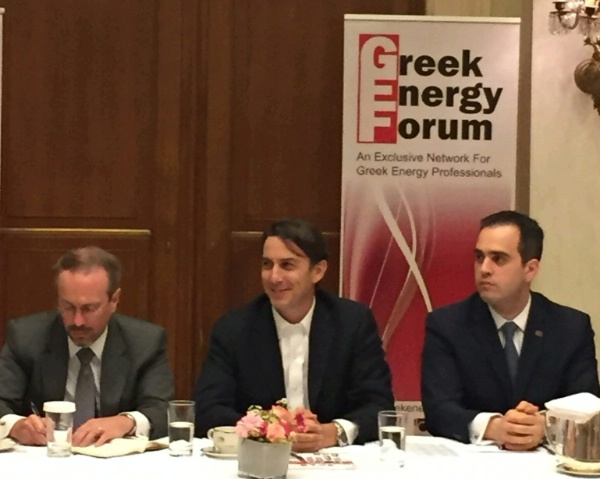 Special Envoy Amos Hochstein participates in Greek Energy Forum roundtable.