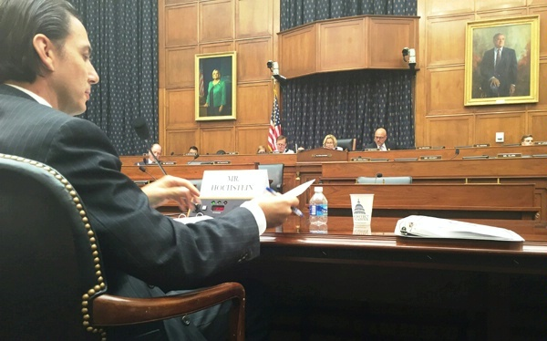 Special Envoy Amos Hochstein testifies on regional energy cooperation in the Eastern Mediterranean at the House Committee on Foreign Affairs