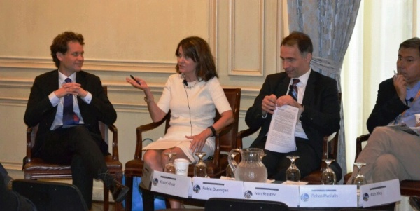 Deputy Assistant Secretary Robin Dunnigan speaks on European energy security at the CEPA Forum