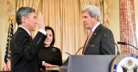 Date: 11/03/2016 Description: Secretary Kerry Swears in Sung Kim as the New U.S. Ambassador to the Philippines - State Dept Image