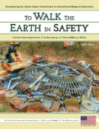 Date: 2016 Description: 2016 Front Cover of To Walk the Earth in Safety - State Dept Image