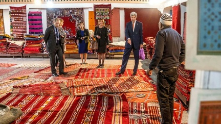 Secretary Kerry Visits an Artisanal Complex at COP22 in Marrakech