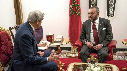 Secretary Kerry Meets With Moroccan King Mohammed VI in Marrakech