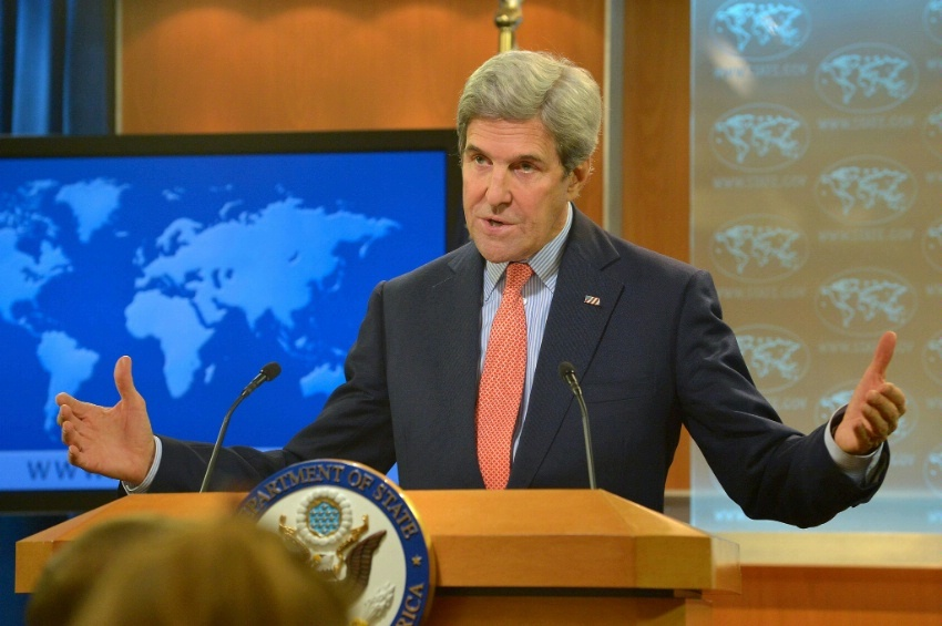 Secretary Kerry Makes a Statement on Syria
