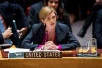 Date: 12/23/2016 Description: UN Ambassador Power Explanation of Vote at the Adoption of UN Security Council Resolution 2334 on the Situation in the Middle East. © UN Image
