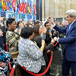 Secretary Kerry Bids Farewell to State Department Employees on His Final Day as Secretary of State