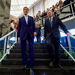 Secretary Kerry and Under Secretary Kennedy Depart After Secretary Kerry's Farewell Address